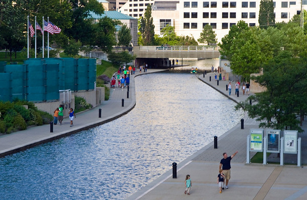 Downtown Indianapolis Canal