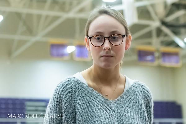 Broughtongirls JV basketball vs Millbrook. February 14, 2019. 750_7106