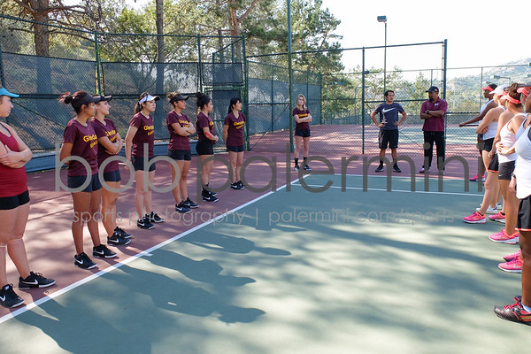 GCC Women's Tennis 2-25-16