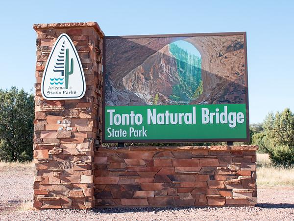 Tonoto Natural Bridge, Pine, Arizona