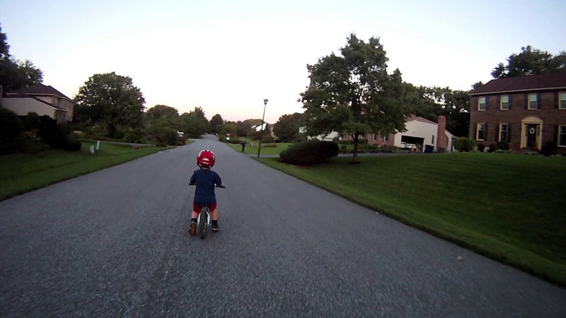 Balance Bike Rock - Going For A Ride