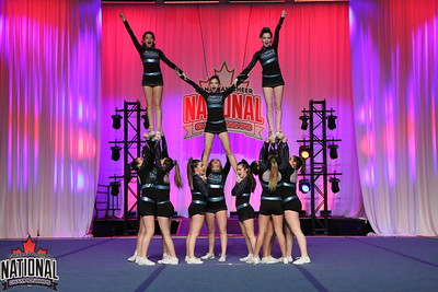 Black Widow Cheer Gym  Lime - Junior Prep 1