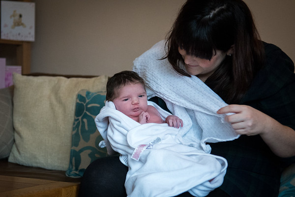 Baby Dorothy Powles 10 days old Ewell. Parent Steph and Rich Powles.