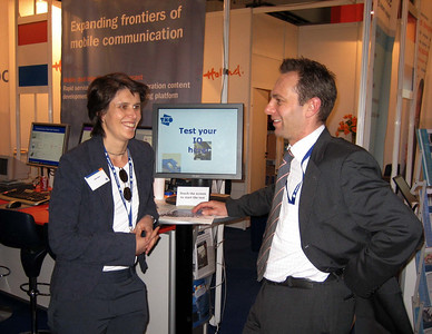 3GSM World Congress 2006 in Barcelona