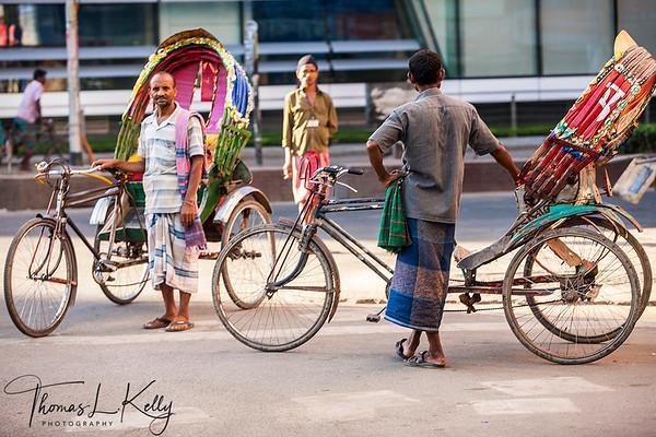 Dhaka Street Scenic