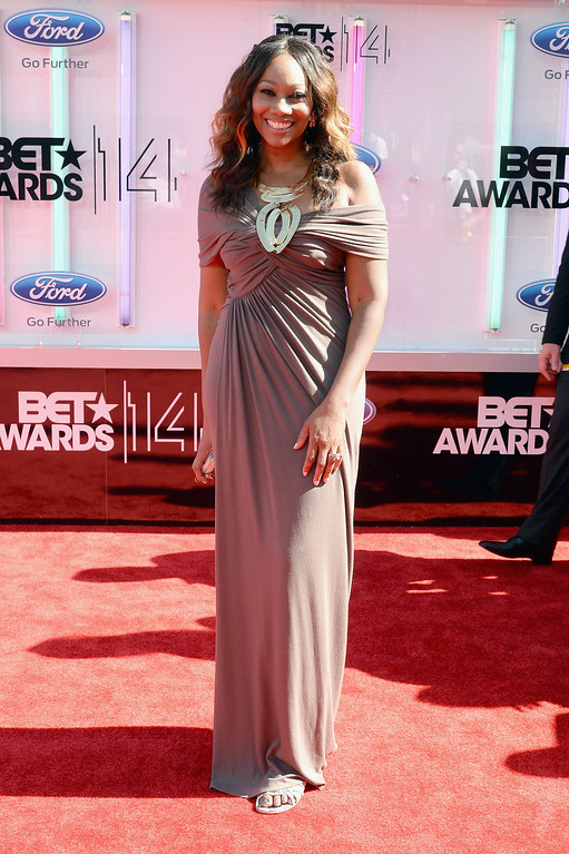 . Singer Yolanda Adams attends the BET AWARDS \'14 at Nokia Theatre L.A. LIVE on June 29, 2014 in Los Angeles, California.  (Photo by Earl Gibson III/Getty Images for BET)