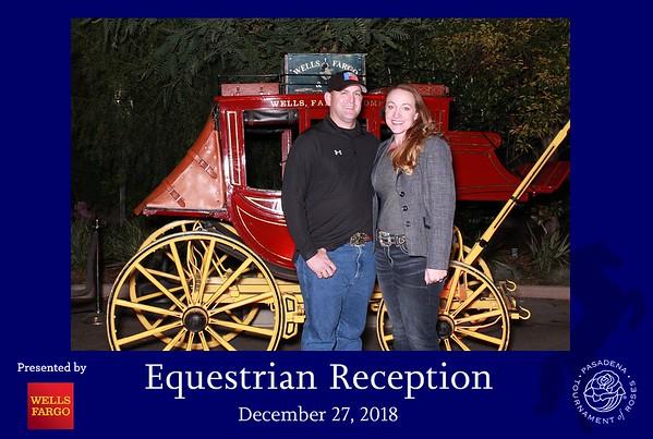 Equestrian Reception - presented by Wells Fargo