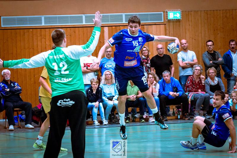 Handball Badenliga: TVH - TV Knielingen (29:29)