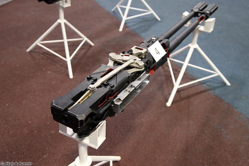 Авиационная пушка ГШ-23Л (GSh-23L autocannon)