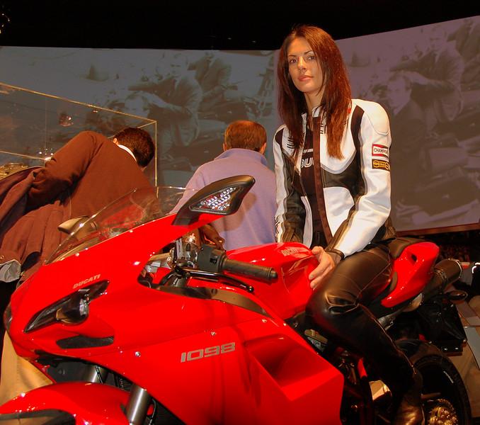 Milan Motorcycle Show, Milan Italy, November 2006