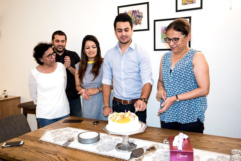 Utsav's 30th birthday. July 2017