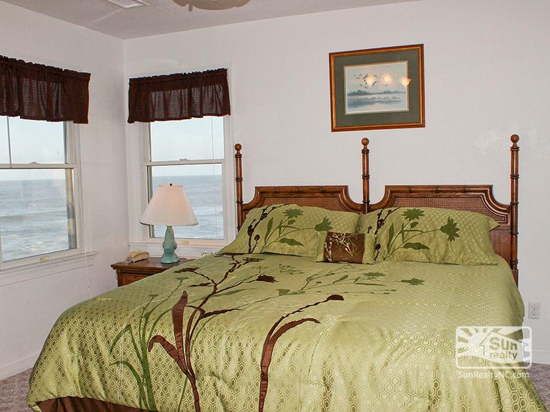 King Master Bedroom with Ocean Views