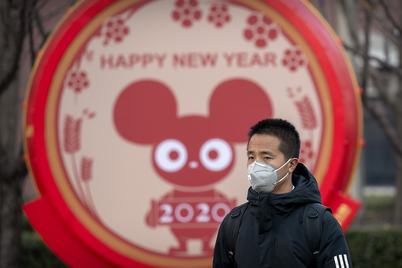 China Outbreak Muted New Year