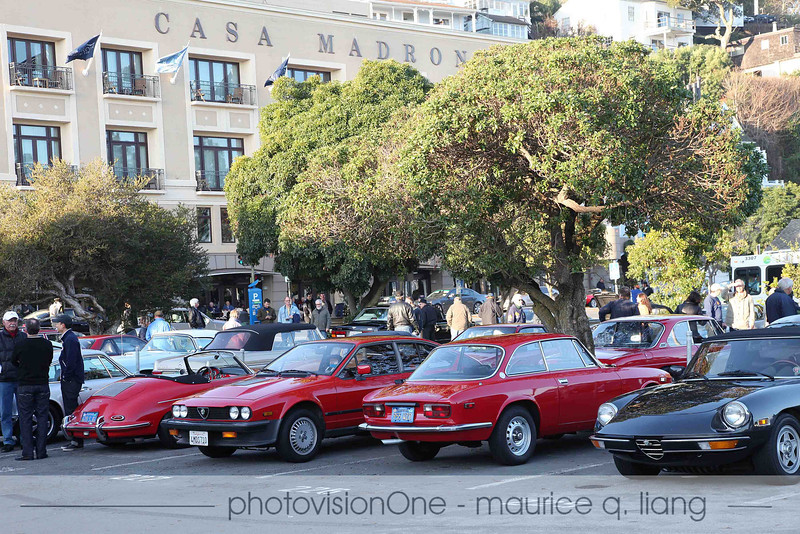 The usual big turnout of Alfas.