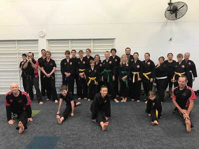 Combat Self Defence Flexibility and Striking Course August 2019