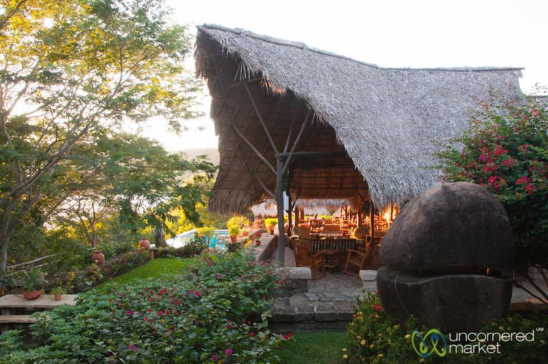 Morgan's Rock Ecolodge Restaurant - Nicaragua