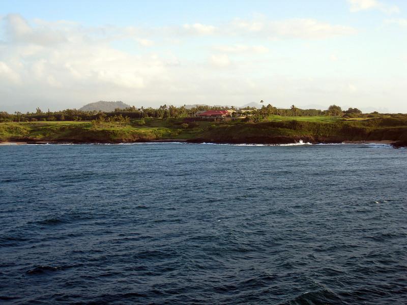 Arriving Nawiliwili, Kauai