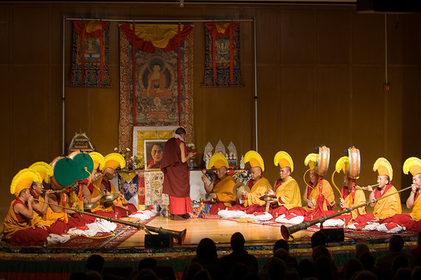 Gyuto Monks Concert at Stanford (2007)