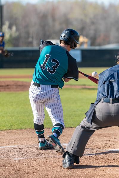 2019-04-03 Oscar Smith vs Hickory Varsity Baseball