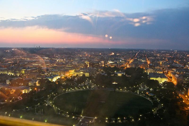 Washington Monument Sunset  620