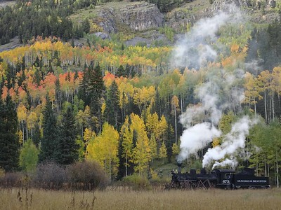 2016-09 D&SNGRR Photographer's Train