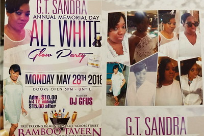 """GT SANDRA """"ALL WHITE GLOW PARTY 2018""""(15)"""