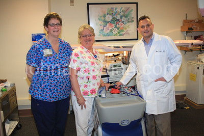 Bristol Hospital - Radiology Staff with Equipment - January 31, 2008
