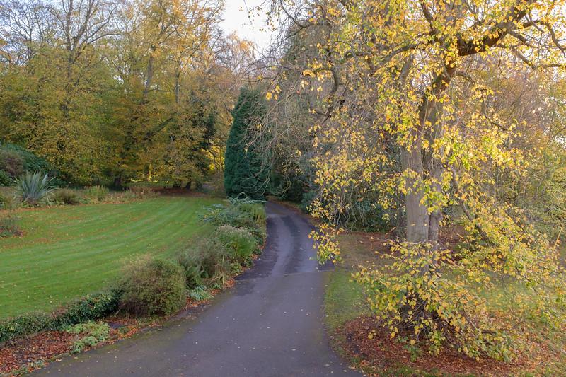 Grounds of Burnhopeside Hall, Lanchester, Durham