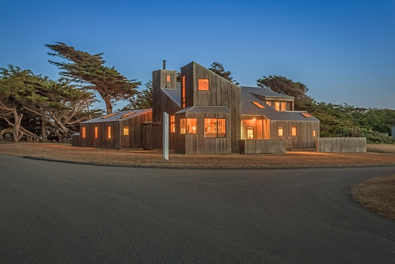 Munger House at Twilight