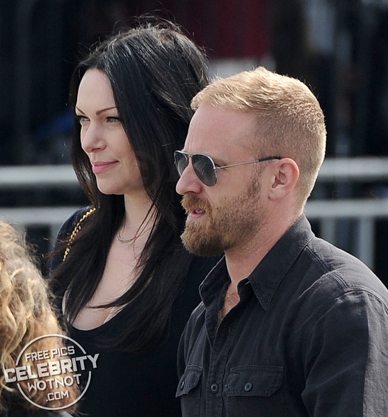 Laura Prepon and Ben Foster Hold Hands in Santa Monica, Los Angeles