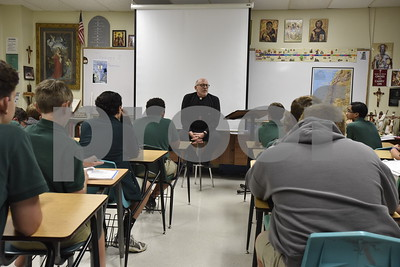 10/10/16 Deacon Bill Necessary at Bishop T.K. Gorman School by Andrew D. Brosig