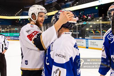 Playoff 1/4-Final (4): EVZ Academy - HC La Chaux-de-Fonds