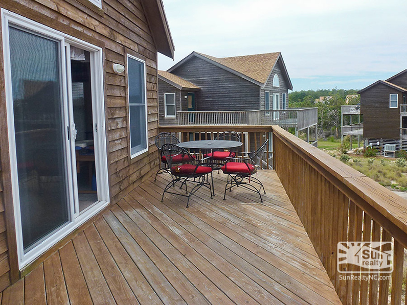 Top-Level Deck with Seating