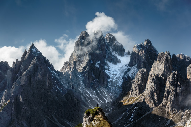 Tre Cime mountains view daylight person epic alps italy.jpg