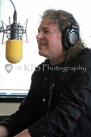 Dave Meniketti & Lejf Jaeger @ 107.7 The Bone Studio