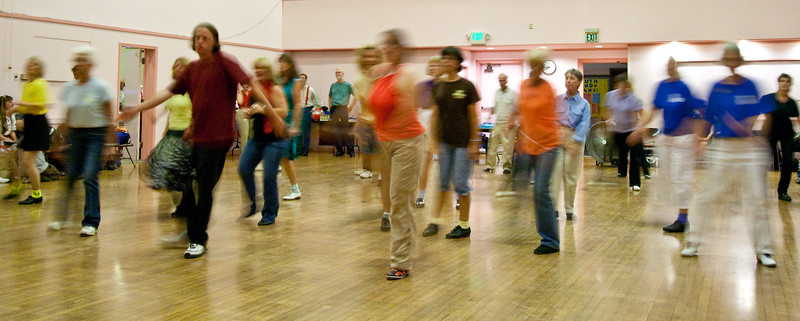 Cloggers in Motion