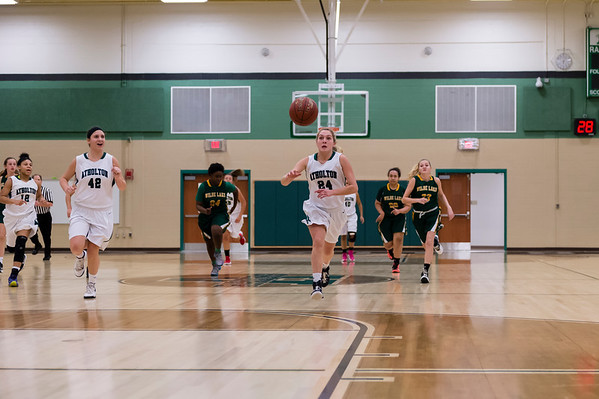2/17/16  - Atholton Girls Varsity Basketball vs Wilde Lake