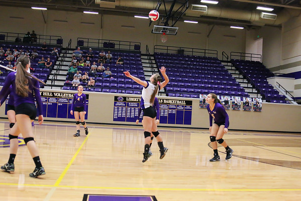 2015-10-16 - Lady Panther Volleyball vs Taylor
