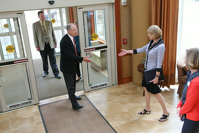 Grassley Pays Edgewater a visit  8/5/2014
