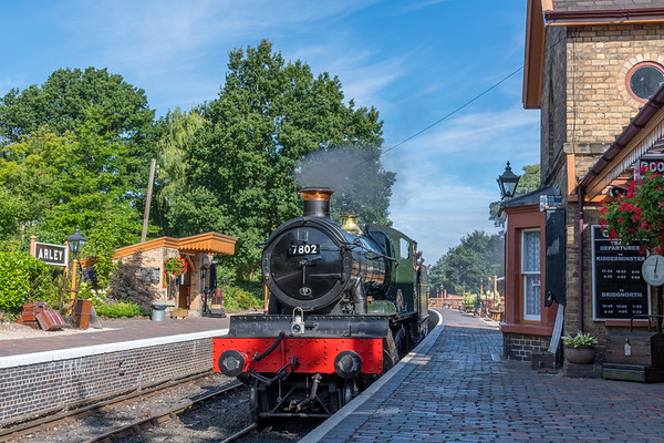 Severn Valley Railway - July 2018