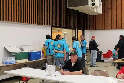 LCC Baseball Special Olympics spaghetti