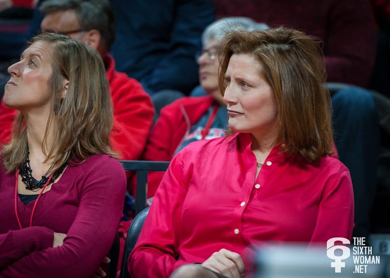 Rutgers athletic director Julie Hermann