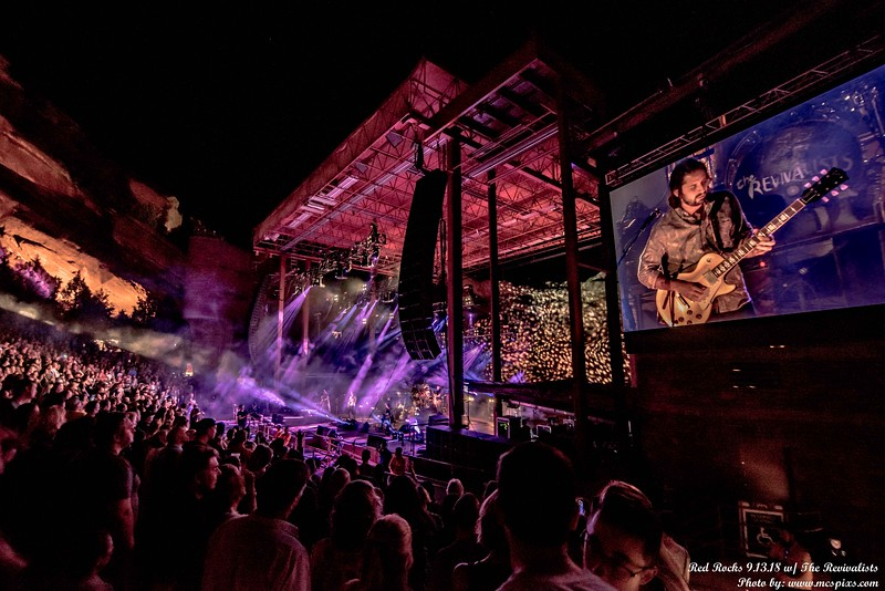The Revivalists at Red Rock 9/13/18 #revheads #therevivalists