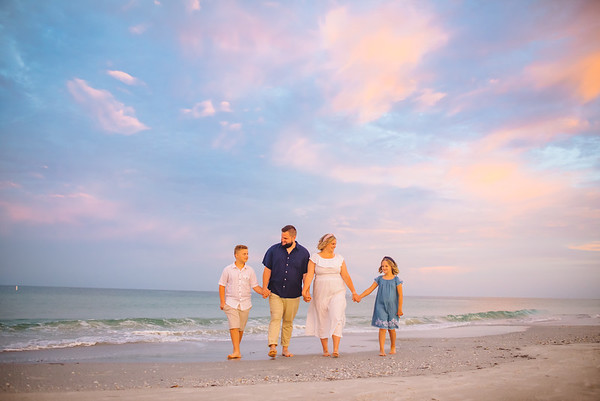 Treasure Island Florida Family Photos at Bilmar Beach Resort Sunrise