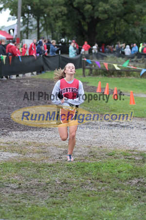 Girls D4 Finish - 2014 Nike Holly Duane Raffin Cross Country Invite