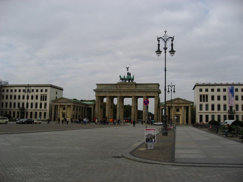 Brandenburg Gate on the East side