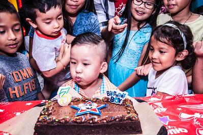 Nathan's 3rd Birthday:  October 11, 2015