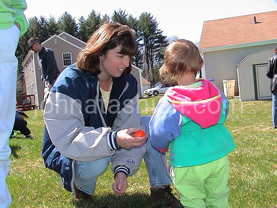 Easter Egg Hunt on Taylor Lane, Southington - August 14, 2001