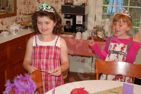 Dressed To a Tea: Afternoon Ritual Makes Comeback at Birthday Party