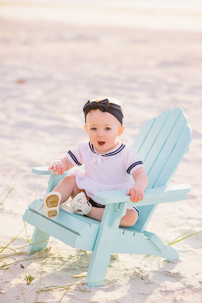 Indian Rocks Beach Family Baby Photos